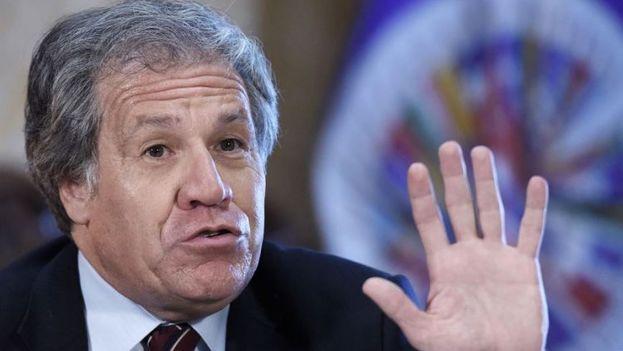 El secretario general de la OEA, Luis Almagro. (EFE)