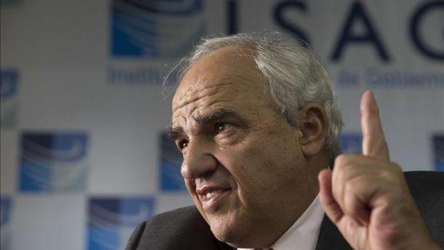 El secretario general de la Unasur, Ernesto Samper. (EFE)