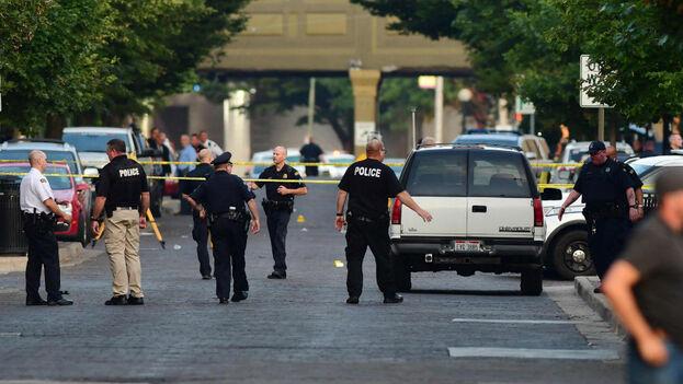 Este es el segundo tiroteo en Estados Unidos en menos de un día. (EFE)