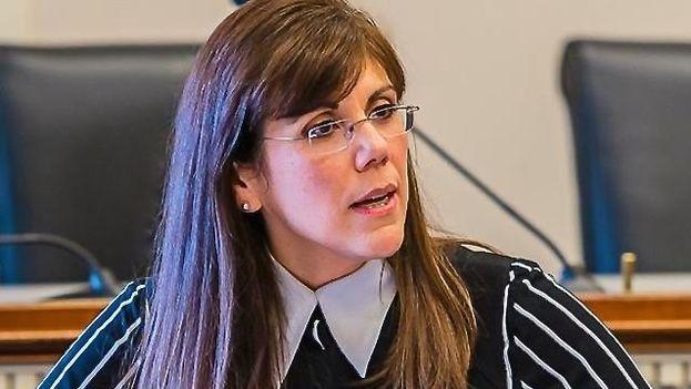 La experta en política exterior y seguridad nacional cubanoamericana Yleem Poblete. (Twitter)