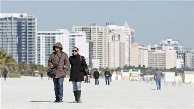 Se espera que el jueves sea el día más frío de la semana con mínimas de 7 a 15,5 grados Celsius. (EFE)