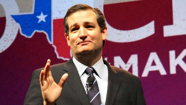 El senador de padre cubano Ted Cruz