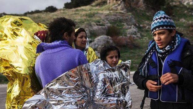 La situación de los refugiados en Europa se ha agravado con la caída de las temperaturas. (@Refugees)