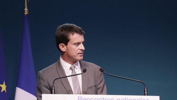 El primer ministro francés, el socialista Manuel Valls. (Gobierno de Francia)