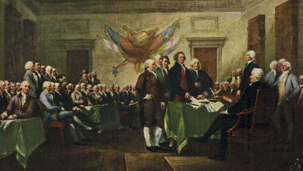 """La primera sociedad de """"acceso abierto"""" fue la república estadounidense comenzada en 1776, asegura el autor. (Archivo)"""