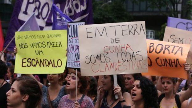 Entre 2016 y 2017 hubo en el país suramericano 2.925 casos de feminicidio. (Secom Cut)