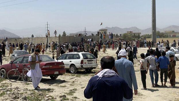 Los talibanes han asegurado en varias ocasiones a los ciudadanos de Kabul que sus combatientes no dañarán a nadie. (EFE)