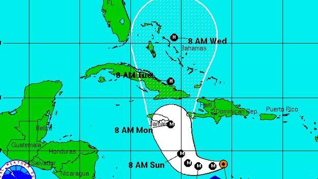 En esta temporada de huracanes en el Atlántico, iniciada el 1 de junio, se han formado 13 tormentas tropicales. (NOAA)