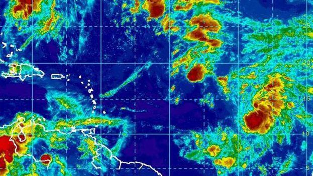 En esta temporada de huracanes se han formado nueve tormentas tropicales. (NOAA)