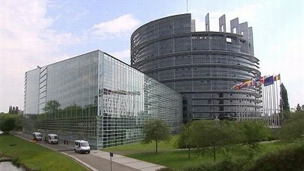 El tribunal europeo de Estrasburgo. (Twitter)