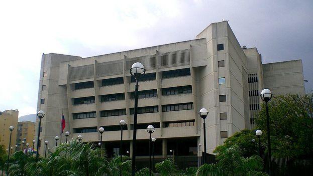 Sede del Tribunal Superior de Justicia, en Caracas. (wikimedia)
