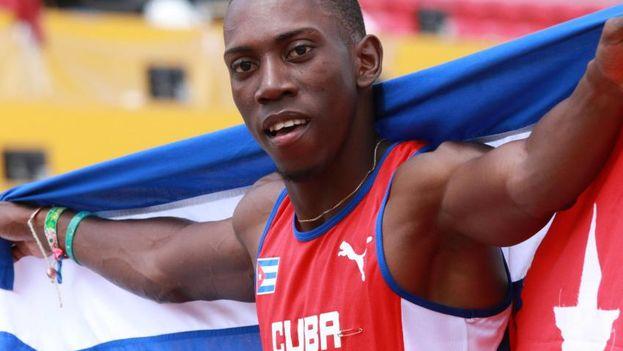 El triplista cubano Pedro Pichardo. (CC)