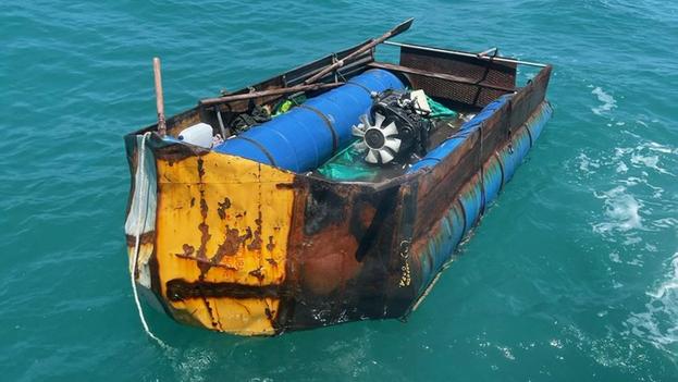 Desde el 1 de octubre de 2020, las tripulaciones de la Guardia Costera han interceptado a 166 cubanos. (USCG)