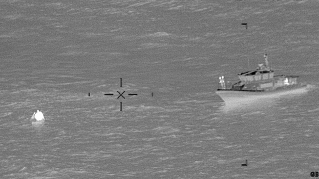 Desde el 1 de octubre de 2020, las tripulaciones de la Guardia Costera han interceptado a 323 cubanos. (USGC)