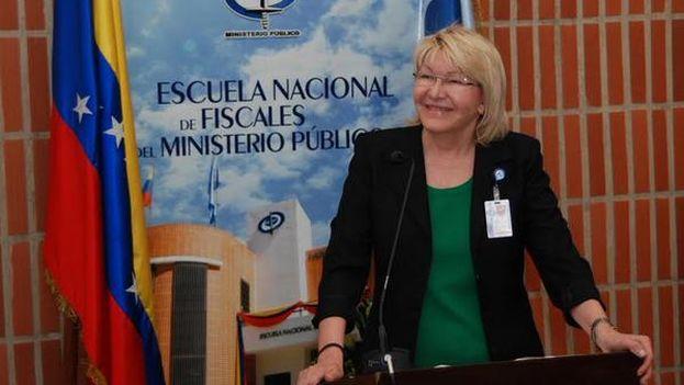 La fiscal venezolana Luisa Ortega Díaz. (Twitter)