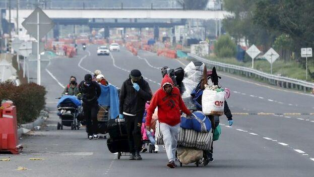 Más de 1,8 millones de venezolanos están radicados en Colombia, según el más reciente informe de las autoridades migratorias. (EFE)