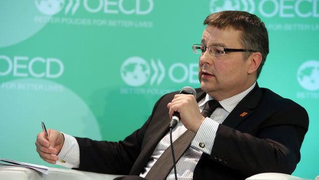 El vicecanciller checo, Martin Tlapa. (OCDE)