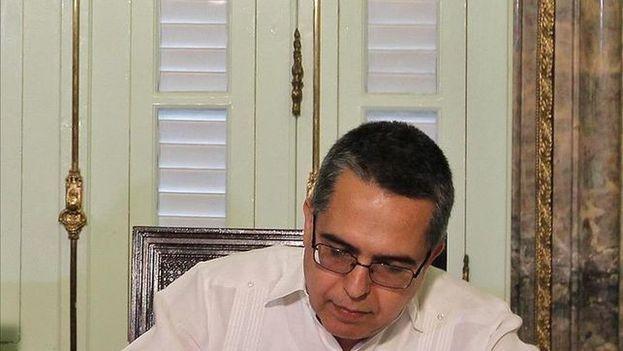 El vicecanciller cubano Marcelino Medina