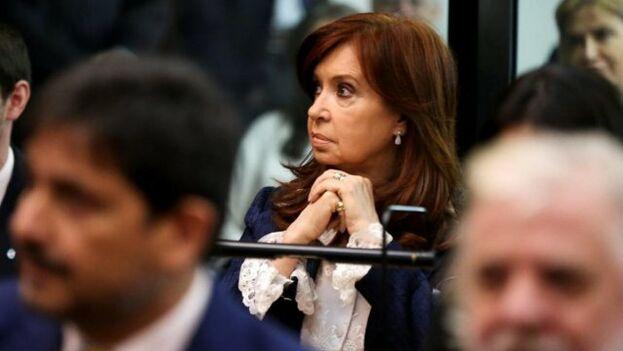 La expresidenta argentina, y vicepresidenta electa, Cristina Fernández de Kirchner. (EFE)