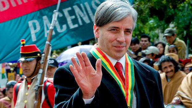 El vicepresidente boliviano Álvaro García Linera. (Wikicommons)
