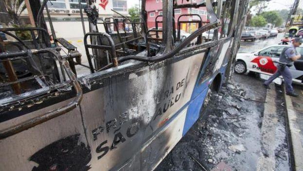 El ataque más reciente, sin heridos, ocurrió en la madrugada de este jueves en el barrio Vila Velha, en la ciudad de Fortaleza. (EFE)
