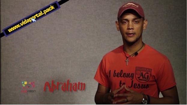 Abraham Campos, del equipo de Luzvisión