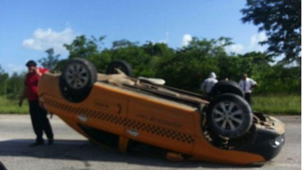 Accidente de tránsito. (Mario Félix Lleonart)