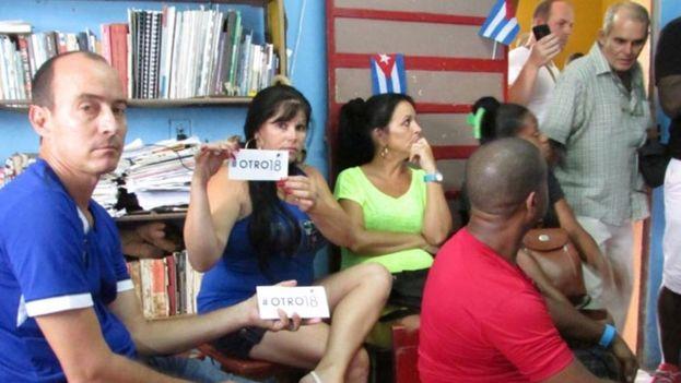 Activistas de #Otro18 buscan cambiar la ley electoral cubana. (Cortesía)