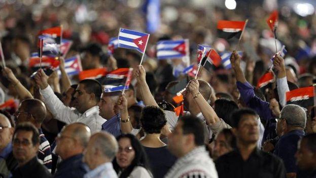 Actos fúnebres para despedir las cenizas de Fidel Castro en La Habana. (EFE)