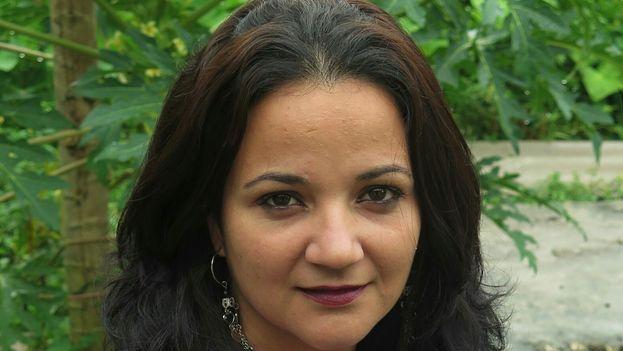 Aimara Peña, aspirante a candida independiente. (Cortesía)