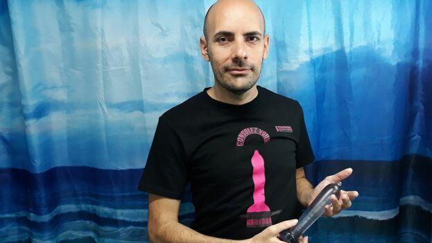 Alejandro Bobadilla, uno de los artistas implicados en Consolez Vous. (14ymedio)