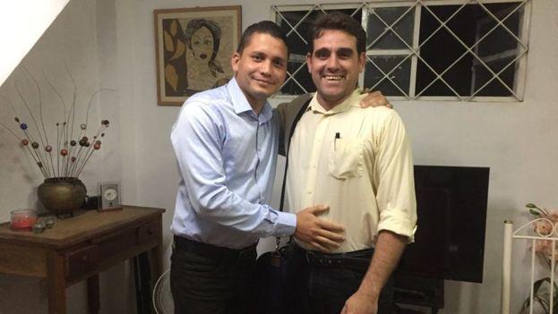 Alexei Gámez había sido liberado en horas de la noche de este miércoles, pero volvió a ser detenido esta mañana. (Somos+)