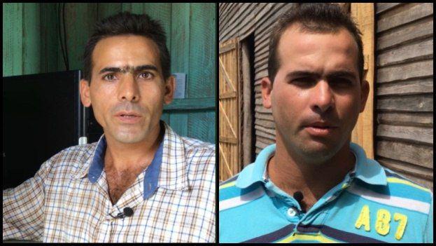 Alfredo y Ariel López González, dos hermanos agricultores de la zona de San Juan y Martínez en Pinar del Río. (CEC)