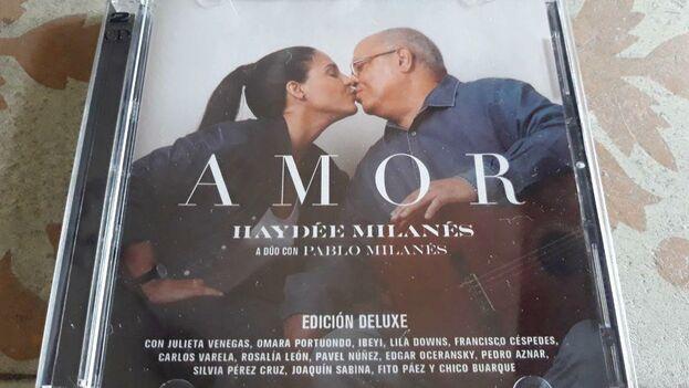 El disco Amor, en su edición Deluxe, saldrá a la venta en Cuba en septiembre. La artista planea un concierto para celebrar el acontecimiento. (14ymedio)