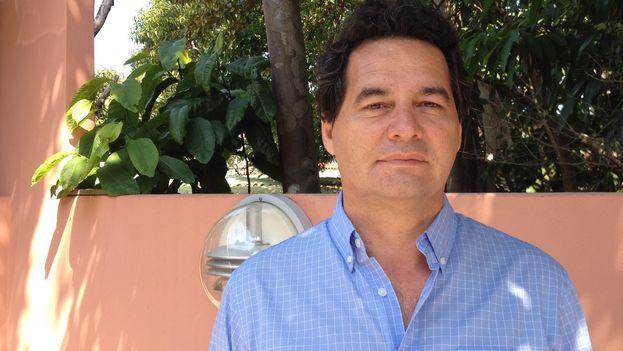 El bloguero y escritor Ángel Santiesteban. (Luz Escobar)