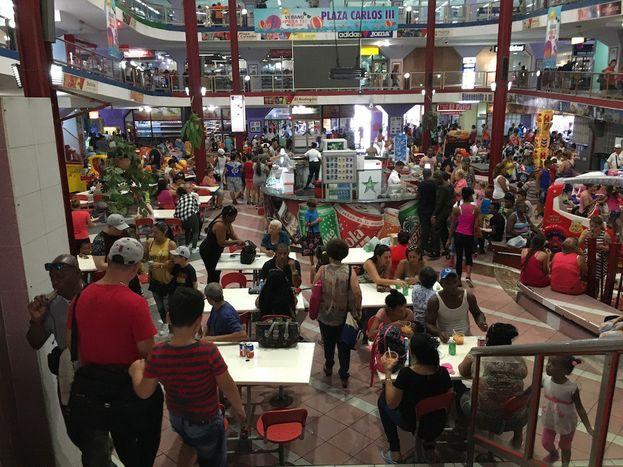 Área de la planta baja del mercado Carlos III. (14ymedio)