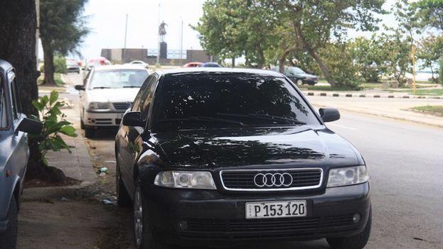 Audi en La Habana. (14ymedio)