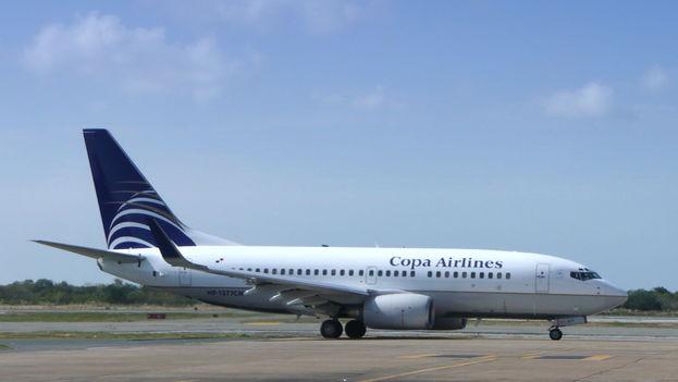 Avión de Copa Airlines en el aeropuerto de Punta Cana. (CC)