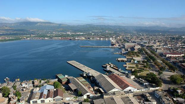 Bahía y puerto de Santiago de Cuba