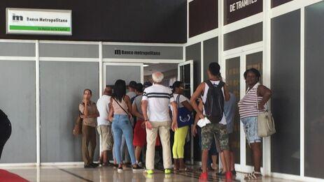 Banco metropolitano de Cuba. (14ymedio)