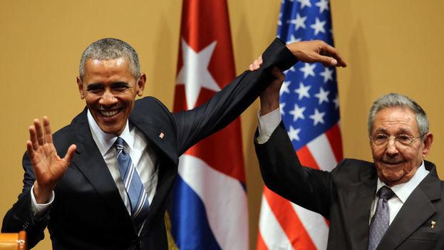 El pasado 20 de marzo Barack Obama comenzó una histórica visita a la Isla que despertó esperanzas y cuestionamientos.(EFE)