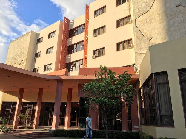 El hotel Bella Habana en la capital, perteneciente a la cadena Islazul. (14ymedio)