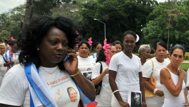 Berta Soler, líder de las Damas de Blanco (CC)
