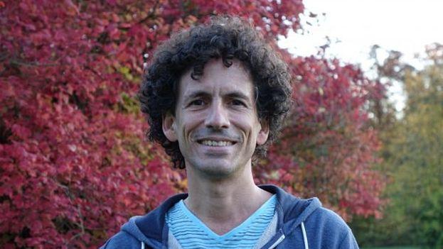 Boris González durante una beca que obtuvo en Alemania. (Akademie Schloss)