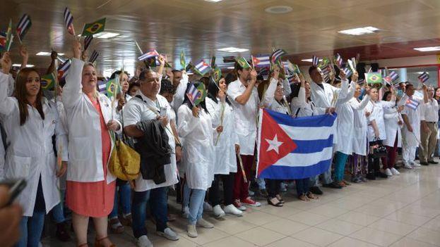 Los médicos siguen llegando desde Brasil tras la ruptura de Cuba con el programa Mais Médicos. (Granma/Juvenal Balán)