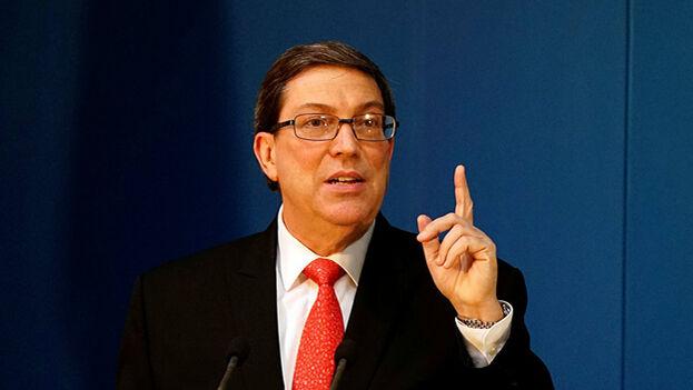 Bruno Rodríguez Parrilla, canciller del Gobierno cubano. (EFE)
