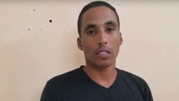 La CCDHRN destaca que entre los activistas arrestados el pasado mes se encontraba el miembro de la Unpacu Yasmani Ovalle León. (Captura)