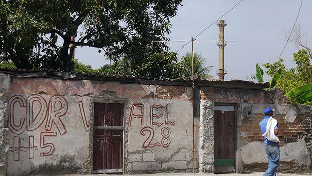 CDR en el municipio Regla, La Habana, a pocos metros del embarcadero de la lancha que une a este poblado con el casco histórico de la ciudad. (14ymedio)