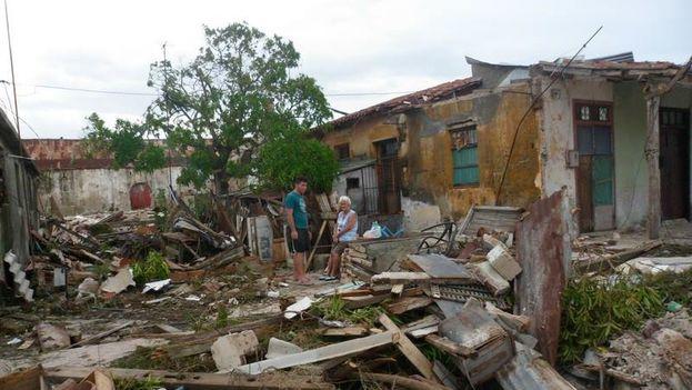 Caibarién después del paso del huracán Irma. (Pedry Roxana) 3