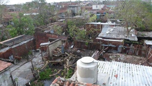 Caibarién después del paso del huracán Irma. (Pedry Roxana) 4